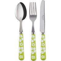 Sabre Hawaiian Flowers Spring Green Children's Set - Hawaiian Gifts