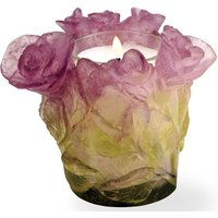 Daum Roses Pink Candleholder - Pink Gifts