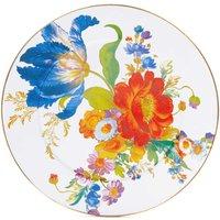 Mackenzie-Childs Flower Market Serving Platter, White