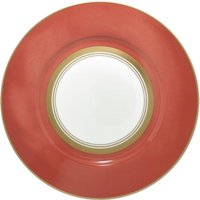 Raynaud Cristobal Rouge Wide Banned 27cm Dinner Plate