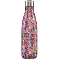 Chilly's 500ml Floral Wild Rose Water Bottle - Floral Gifts
