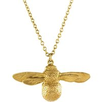 Alex Monroe Baby Bee Necklace, Gold Plated - Baby Gifts