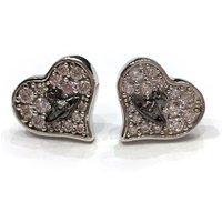 Vivienne Westwood Freya Earrings, Rhodium Plated - David Shuttle Gifts