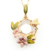 Bill Skinner Scenes Of Nature Light Silk Pendant | BS-NW0218-G - Nature Gifts
