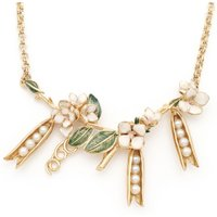 Bill Skinner Pea Pod Statement Necklace   Bs-nw0313-g