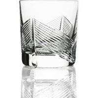 Cumbria Crystal Palm Double Old Fashioned Tumbler