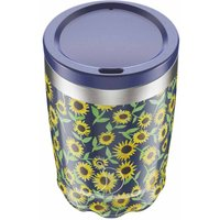 Chilly's 340ml Floral Sunflower Coffee Cup - Floral Gifts