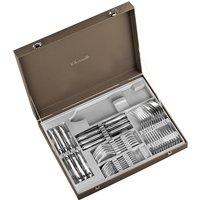 Christofle Jardin dEden 36 Piece Silver Plated Standard Set in Chest