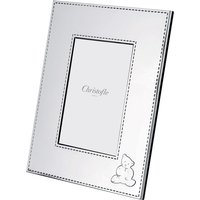 Christofle Charlie Bear Picture Frame, 10cm x 15cm | 04256220 - Picture Gifts