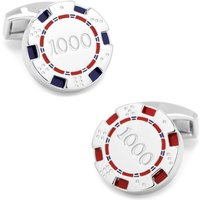 Tateossian Poker Chip Cufflinks | CL7181 - Poker Gifts