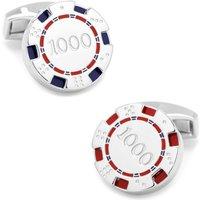 Tateossian Poker Chip Cufflinks - Poker Gifts