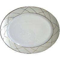 Haviland Clair de Lune Arcades 40cm Oval Platter