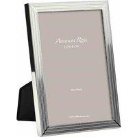 Addison Ross Herringbone Silver Plated Photo Frame, 5 x 7 - Photo Frame Gifts