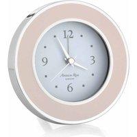 Addison Ross Light Pink & Silver Alarm Clock - Alarm Clock Gifts