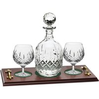 Royal Scot Crystal London Brandy Tray Set - Brandy Gifts