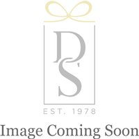 Royal Scot Crystal London Large Barrel Vase