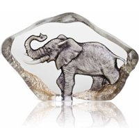 Maleras Wildlife Miniature Elephant, Painted - Wildlife Gifts