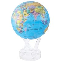 MOVA Blue with Political Map 4.5 Globe - Politics Gifts