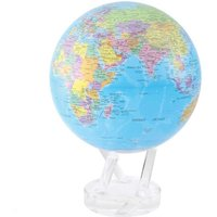 MOVA Blue with Political Map 8.5 Globe - Politics Gifts