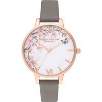 Olivia Burton Pretty Blossom Demi London Grey & Rose Gold Watch   OB16EG122 - Pretty Gifts