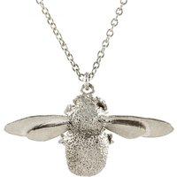 Alex Monroe Bumblebee Silver Necklace   Osn1/s