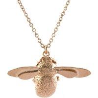 Alex Monroe Bumblebee Rose Gold Necklace   Osn1/rgp