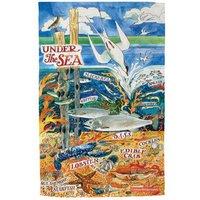 Emma Bridgewater Under The Sea Tea Towel - Towel Gifts