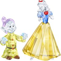 Swarovski Snow White & Dopey Set - Decorations Gifts