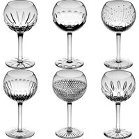 Cumbria Crystal SIX Small Mixed Wine Glass Set | SW-811-SX