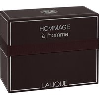 Lalique Men's Hommage a l'homme Gift Set, 100ml EDT & 150ml Shower Gel - Jewellery Gifts