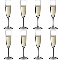 Riedel Vinum Champagne Glasses (Set of 8) - Alcohol Gifts
