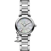 Vivienne Westwood Orb Ladies' Mother Silver Tone Bracelet Watch | VV006PSLSL - Mother Gifts