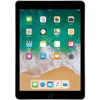 "Apple iPad (2018) 9.7"" Wi-Fi + 4G 128GB Space Gray SPRINT"