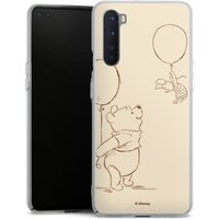 OnePlus Nord Handy Hard Case Schutzhülle transparent Smartphone Backcover Official Licensed Product Disney Winnie The Pooh Hard Case