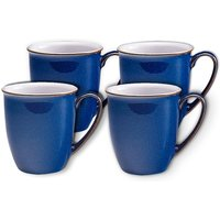 Imperial Blue Coffee Beaker Set Of 4