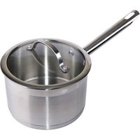 D200 Stainless Steel 18/10 Saucepan (W/Lid) D20Cm