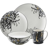 Monsoon Chrysanthemum 4 Piece Tableware Set