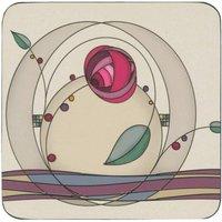 Denby Tiffany Rose Coasters Set of 6