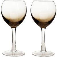 Halo/Praline White Wine Glass (Pack Of 2)