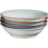 Always Entertaining - The Blue Edit 4 Piece Medium Shallow Bowl Set