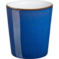 Imperial Blue handleless mug - Denby Pottery