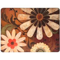 Denby Brown Daisy Placemats Set of 6