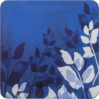 Denby Colours Blue Foliage Coasters Set Of 6