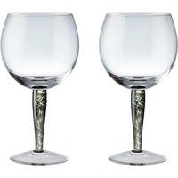 Jet Set Of 2 Gin Glasses