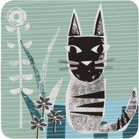Denby Cat Coasters Set of 6