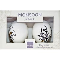Monsoon Chrysanthemum Salt & Pepper Pots