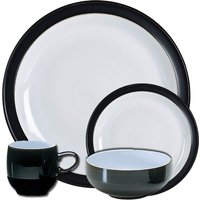 Jet Black 16 Piece Tableware Set