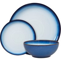 Blue Haze 12 Piece Coupe Tableware Set