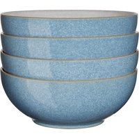 Elements Blue 4 Piece Cereal Bowl Set