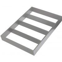 Auszugseinteilung Tavinea Sorto, Farbe: Silber, Breite 276 mm